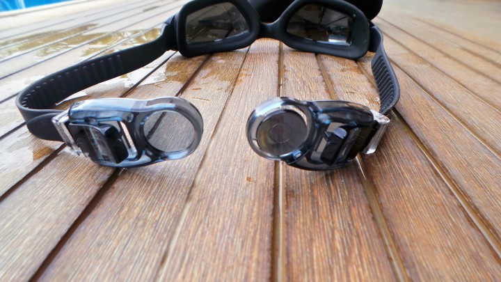 Goggles clip