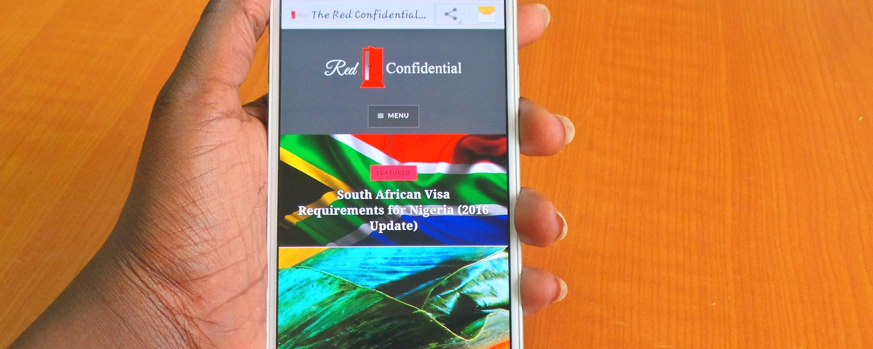 Red Confidential on Android