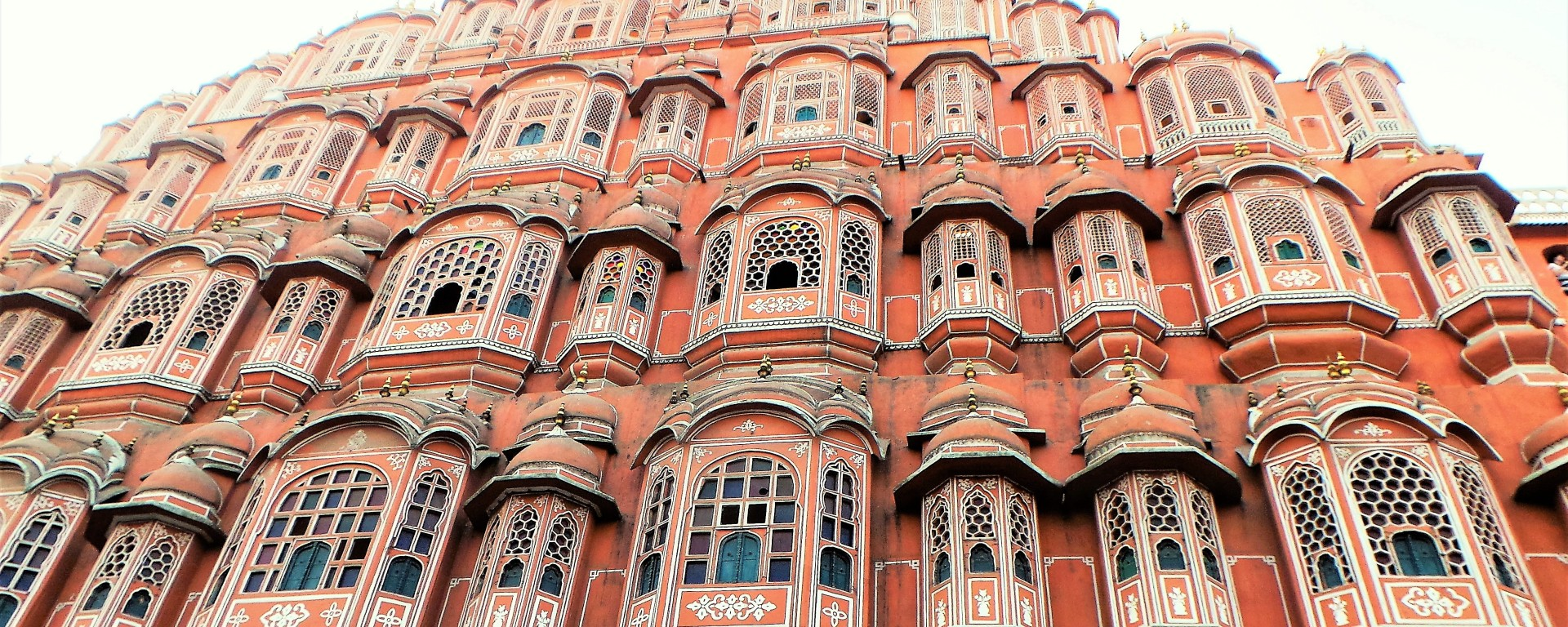 Lovely Architecture in The Pink City, Rajastan