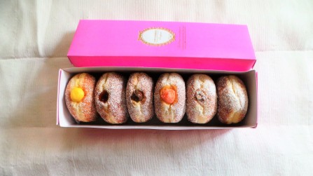Coco Ribbon Doughnuts