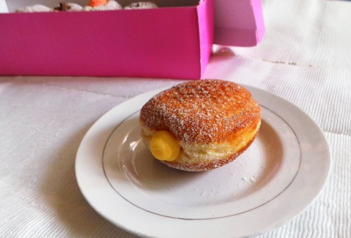 One Doughnut with filling