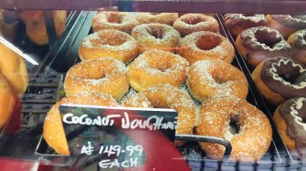 Coconut Doughnuts from Shoprite