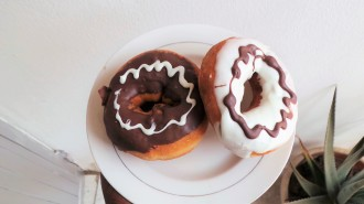 Chocolate Doughnuts from Shoprite