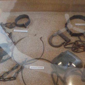Slave chains and stone