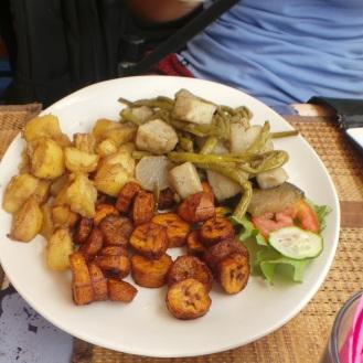 Plantain Potatoes in goree, Dakar