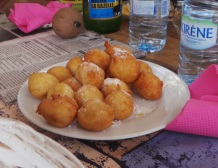 Puff- Puff and Sugar on Goree, Dakar