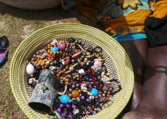 Local Bracelets sold in Dakar