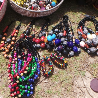 Local Necklaces sold in Dakar