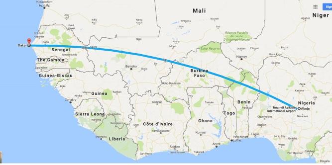 Nigeria to Senegal