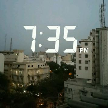 Sunset in Dakar