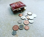 Coins from Coin Purse