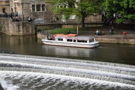 Ferry on the Avon River