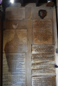 Inside the Abbey Entrance