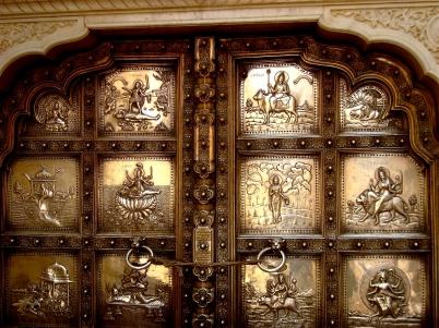 Silver Door in Amber fort, Jaipur
