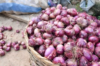 Basket of Onions and