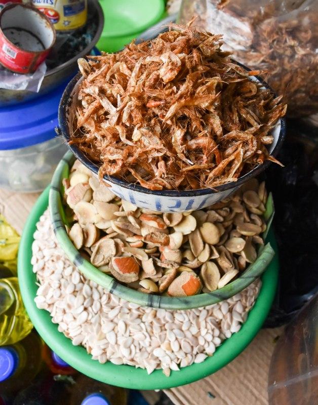 Crayfish, Ogbono and Egusi