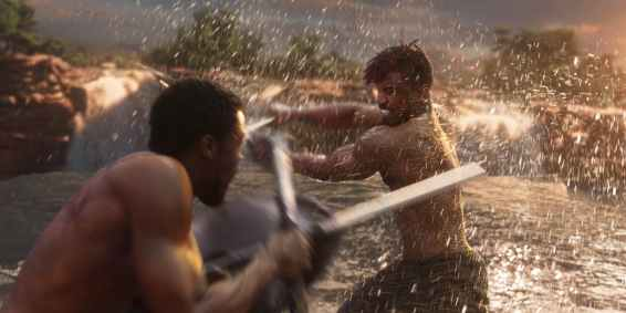 Black-Panther-vs-Killmonger-first-fight