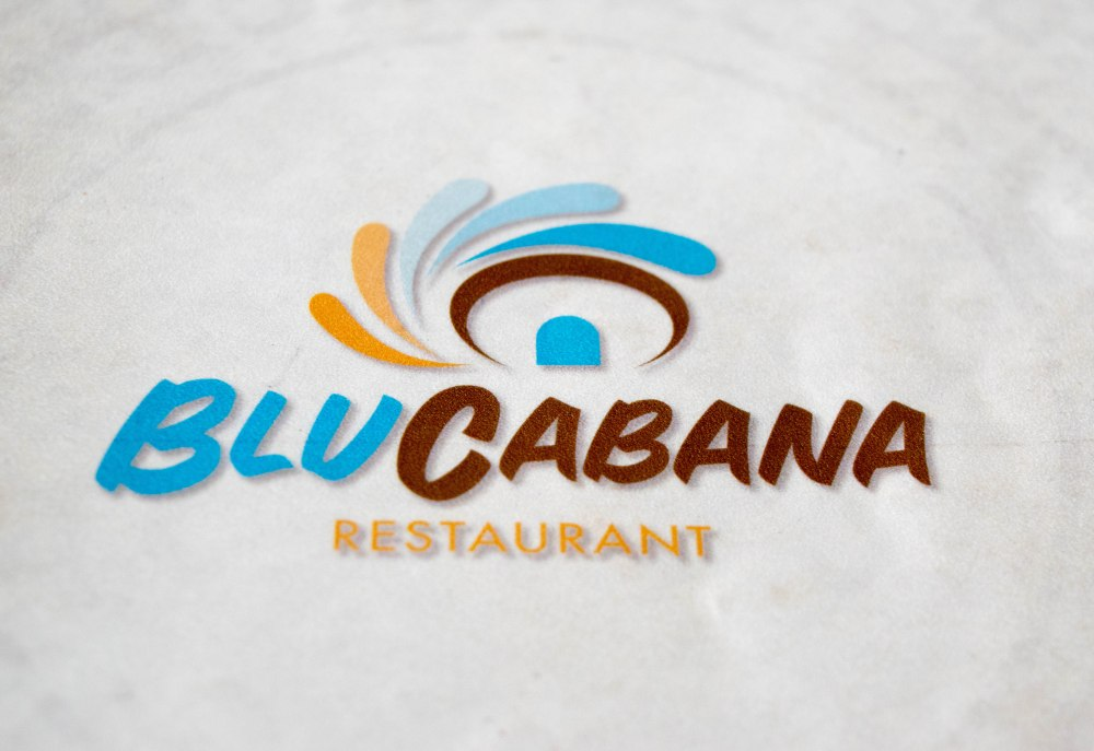 Blu Cabana Menu Booklet