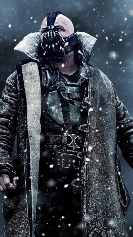 Bane in the Batman movie Dark Knight Rises