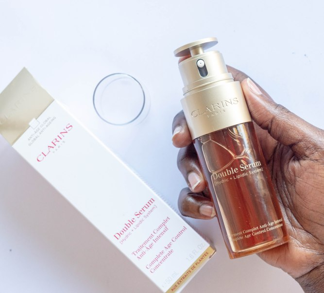 Beauty Product Review Clarins Double Serum The Red