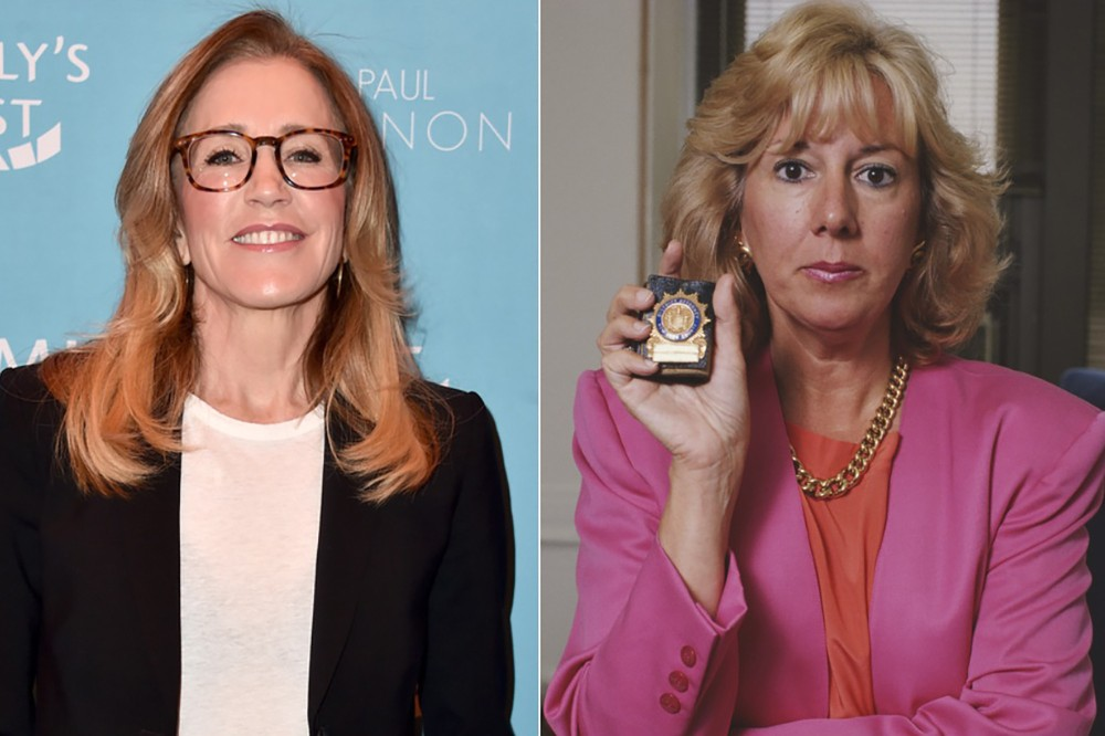 Felicity Huffman (you probably know her from Desperate Housewives) played Linda Fairstein