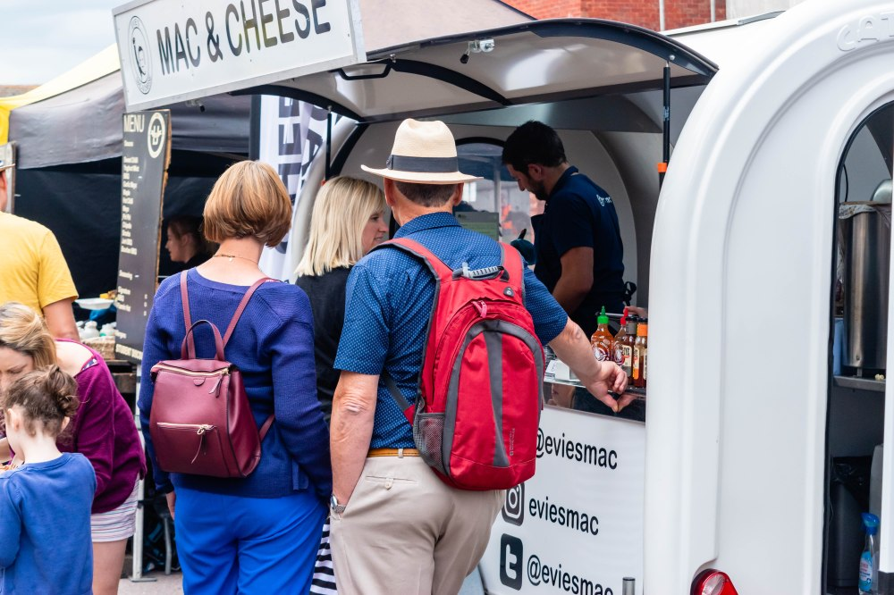 Evie's Mac and Cheese at Trowbridge Weavers Market