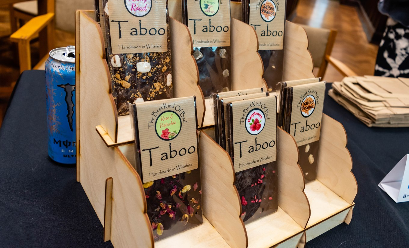 Taboo Handmade Single Origin Colombian Chocolate Bars at Trowbridge Weavers Market