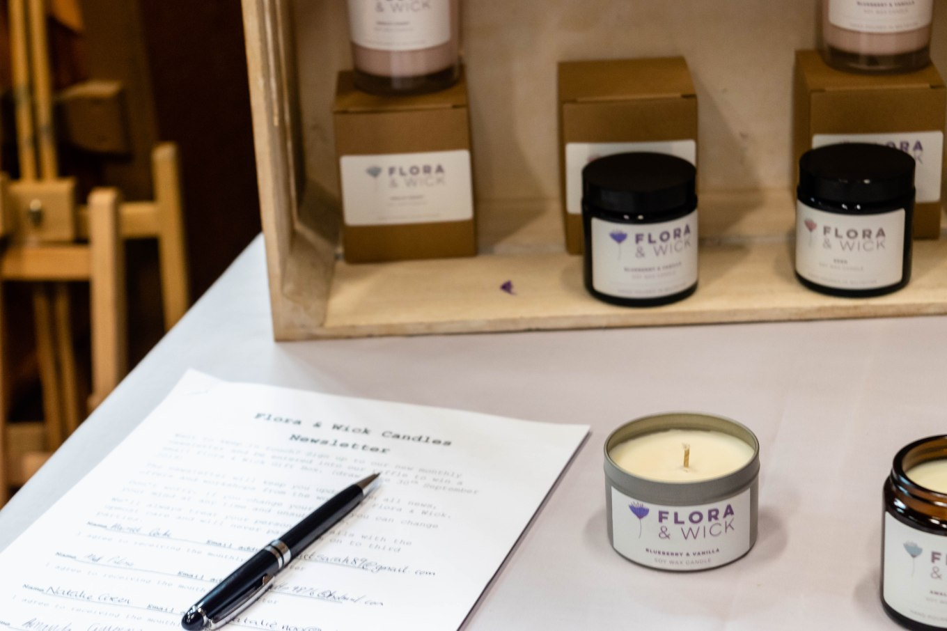 Flora & Wick Candles